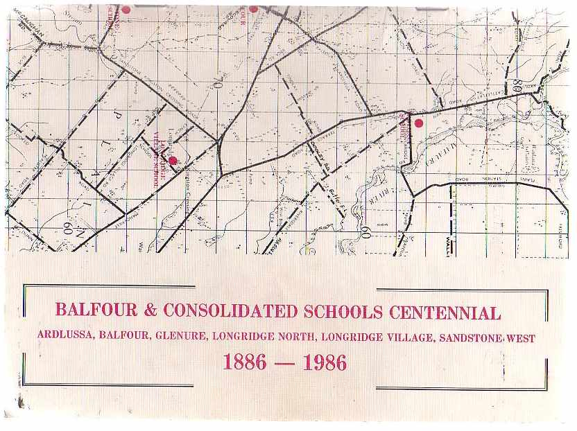 Image for Balfour & Consolidated Schools Centennial 1886-1986