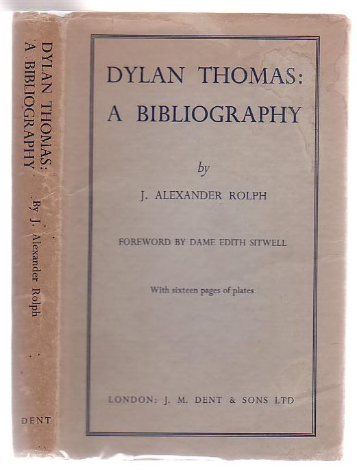 Image for Dylan Thomas A Bibliography