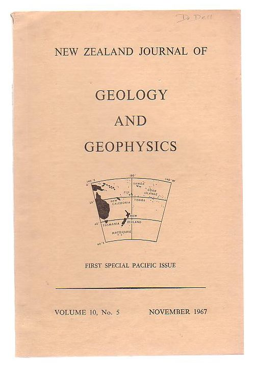 Image for New Zealand Journal Of Geology And Geophysics First Special Pacific Issue Volume 10, No. 5