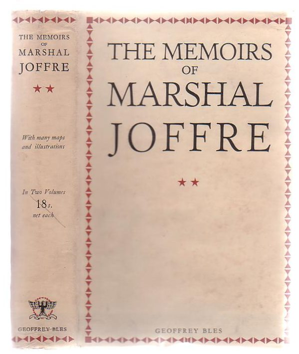 Image for The Memoirs Of Marshall Joffre (Volume Two Only)