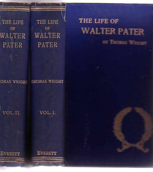 Image for The Life Of Walter Pater (Two Volumes)