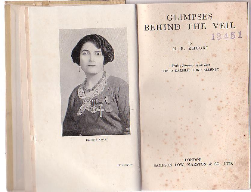 Image for Glimpses Behind the Veil