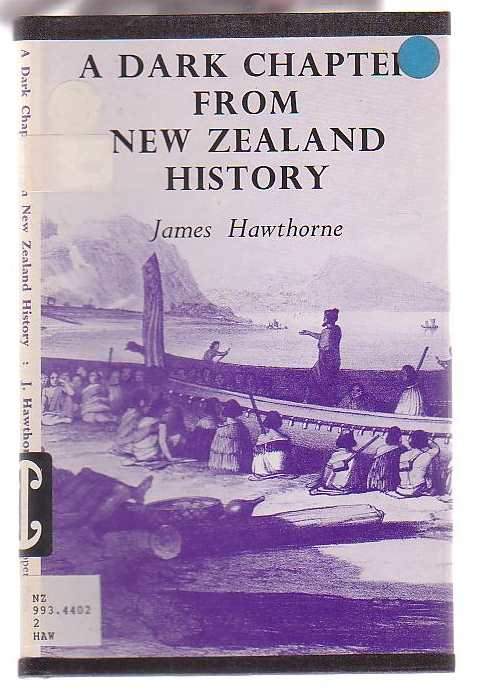 Image for A Dark Chapter from New Zealand History