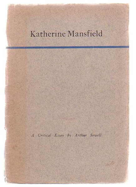 Image for Katherine Mansfield A Critical Essay