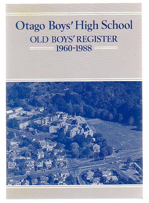 Image for Otago Boys' High School Old Boys' Register