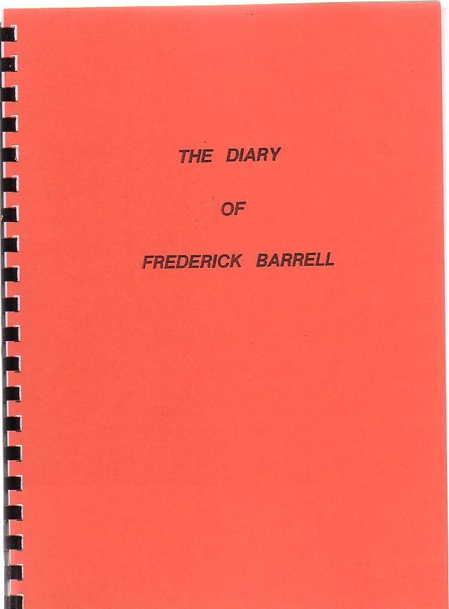 Image for The Diary Of Frederick Barrell
