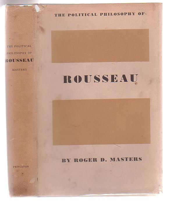 Image for The Political Philosophy Of Rousseau