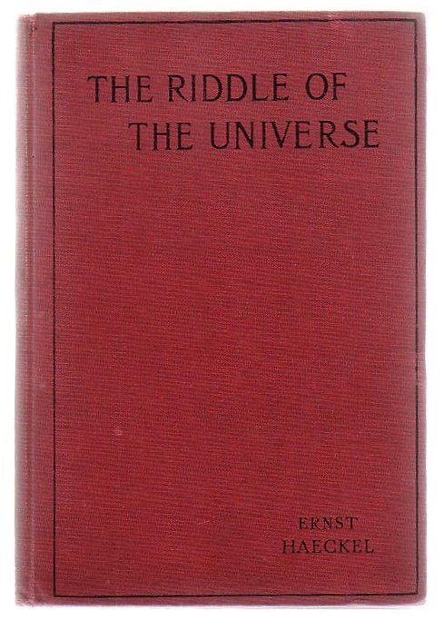 Image for The Riddle Of The Universe At The Close Of The Nineteenth Century