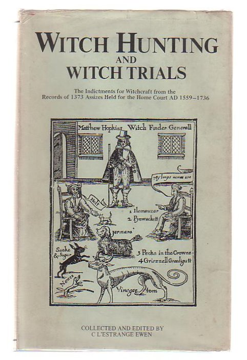 Image for Witch Hunting And Witch Trials